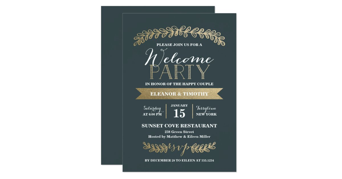 Meet greet invitations templates party invitations ...