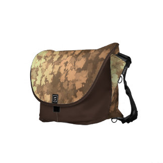 Gold Leaf Camo Courier Bag