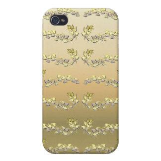 Gold Leaf iPhone 4 Case
