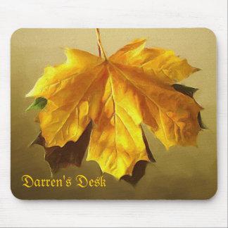 Gold Leaf ~ Mousepad
