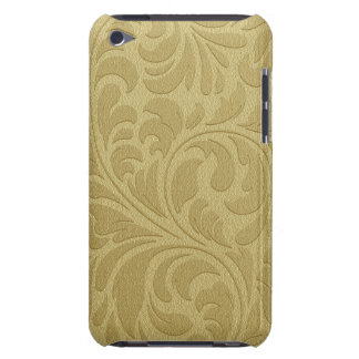 Gold Leaf Pattern iPod Touch Case