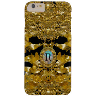 Gold Leaf Raphael  Monogram Barely There iPhone 6 Plus Case