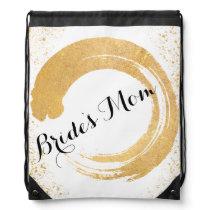 Gold Leaf Spray Bride's Mom Bag