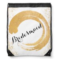 Gold Leaf Spray Bridesmaid Bag