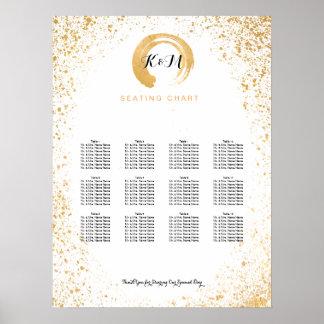 Gold Leaf Spray seating chart