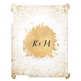 Gold Leaf Spray Wedding Gift Cover For The iPad 2 3 4