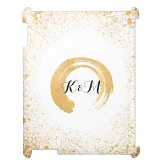 Gold Leaf Spray Wedding Gifts Cover For The iPad 2 3 4