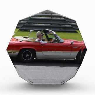 Gold Leaf Team Lotus Elan Acrylic Award