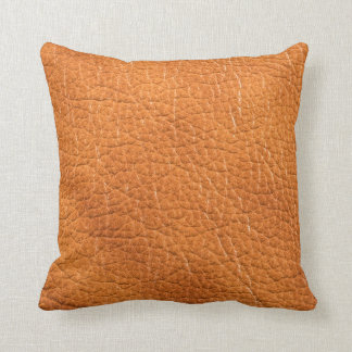 Gold Leather Pillow