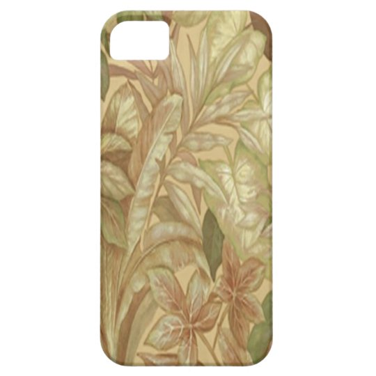 Gold Leaves iPhone 5 Case