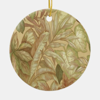 Gold Leaves Ornament