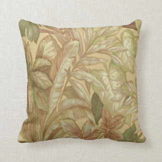 Gold Leaves Reversible Pillow