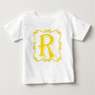 Gold Letter R Tees