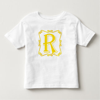 Gold Letter R Shirts