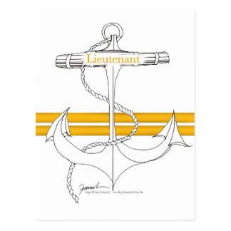 gold lieutenant, tony fernandes postcard