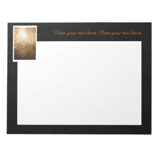 Gold Light 001 Note Pad
