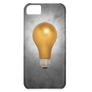 Gold Light Bulb iPhone 5C Cover