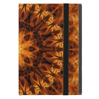Gold Light Gateway Mandala iPad Mini Cover