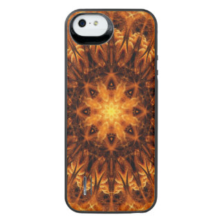 Gold Light Gateway Mandala iPhone SE/5/5s Battery Case