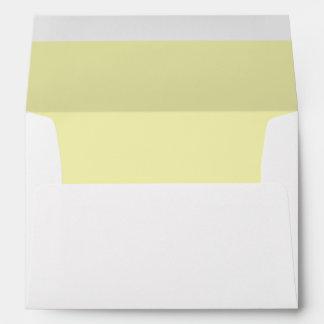 Gold Light Invitation Envelope
