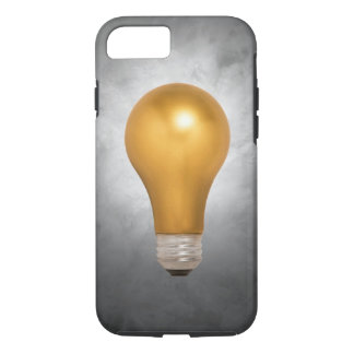 Gold Lightbulb iPhone 7 (Tough) Cover