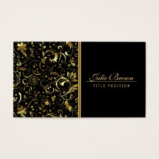 Gold Line And Damask