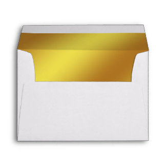 Gold Lined Envelope