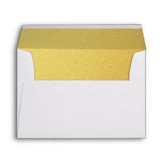 Gold lined Envelope for Wedding Invitation