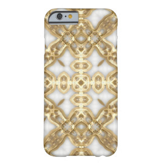 Gold Link Cross Barely There iPhone 6 Case