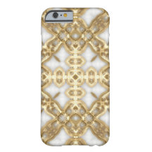 Gold Link Cross iPhone 6 Case