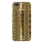Gold Links and Braid Case For iPhone 5