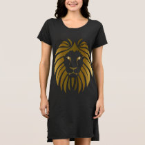 Gold Lion Customizable Dress
