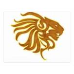 Gold Lion Post Cards