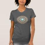 Gold Lotus Yoga and Meditation Teacher Health Spa T Shirt
