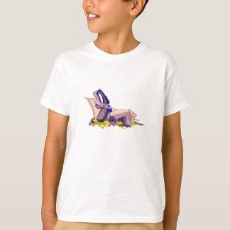 Gold Loving Dragon T-Shirt