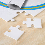 Gold & Lt Blue (Add Background Color) Jigsaw Puzzles