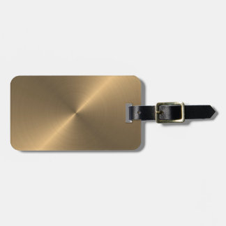 Gold Tag For Luggage