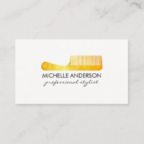Gold Luxe Comb Hair Stylist Appointment