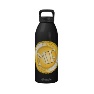 GOLD MADE FILMS REUSABLE WATER BOTTLE