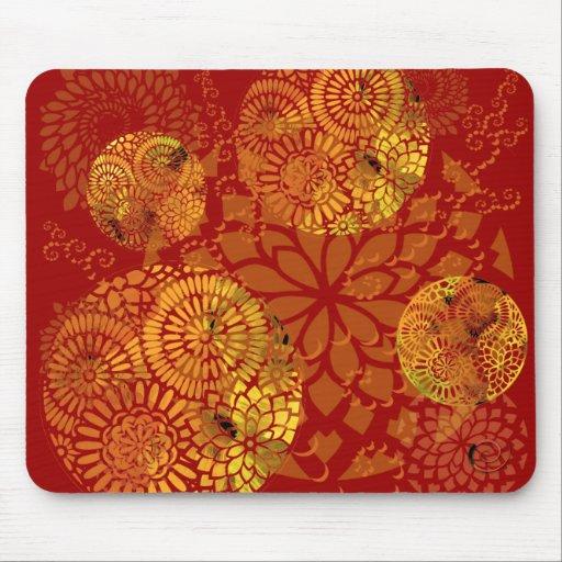 Gold Mandalas Mousepad