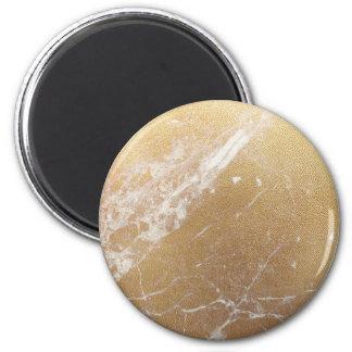 gold marble foil magnet