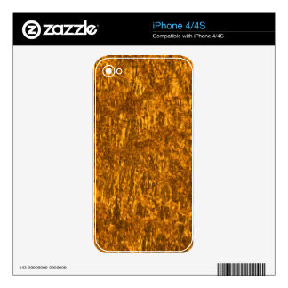 Gold marble iPhone 4S skin
