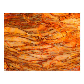 Gold marble postcard