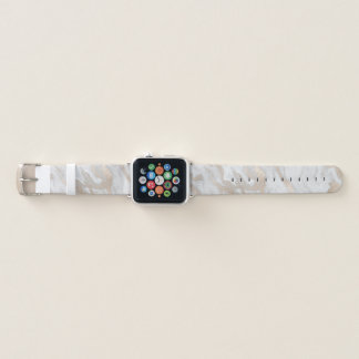 Gold Marbled Look Apple Watch Band