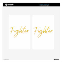 GOLD MARKER FIGHTER SCRIPT MOTIVATION GEAR KINDLE FIRE SKIN