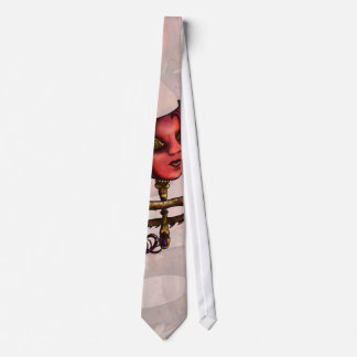 Gold Mask 3 Neck Tie