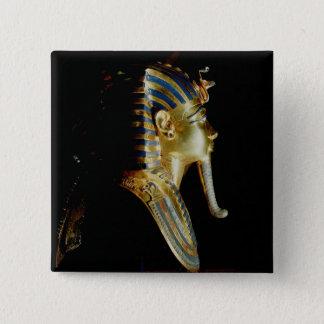 Gold mask of Tutankhamun Pinback Button
