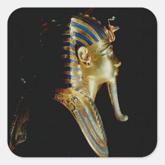 Gold mask of Tutankhamun Square Sticker