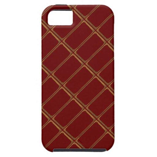 Gold Matrix iPhone SE/5/5s Case
