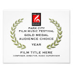 """Gold Medal Certificate 10"""" x 8"""" Photo Print"""